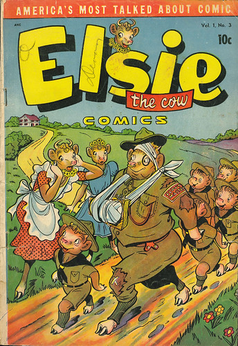 Elsie the Cow 003 (D.S. - JulyAug 1950) 001 (by senses working overtime)