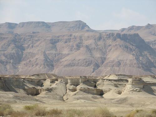 ネゲヴ砂漠の香の道と都市群の写...