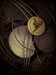 My Mess: Vintage fan