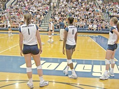 Wreck Hall Madness! Lions vs Blackbirds (104 i) (b.chillin) Tags: lion megan volleyball bigten nittany hodge womensvolleyball collegevolleyball nicolefawcett pennstatevolleyball bigtenvolleyball nittanylionvolleyball pennstatevolleyball2008 volleyballwomens thehotfawcett