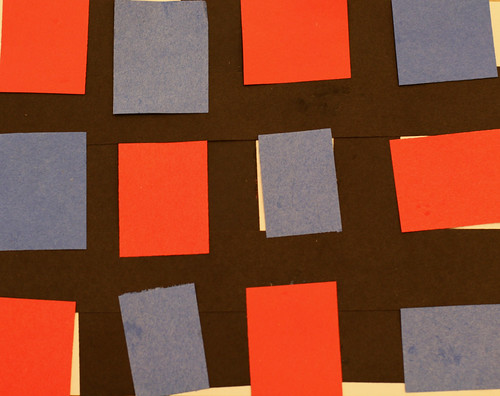 Whitney's primary colored rectangles and squares
