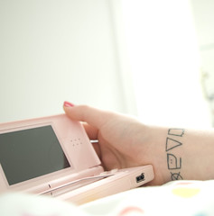 Introduction (Sainte) Tags: nintendo ds tatoo lavage tatouage pictogramme