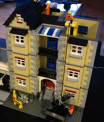 Construction update (Loozrboy) Tags: buildings toys construction lego modular moc myowncreation modularhouses
