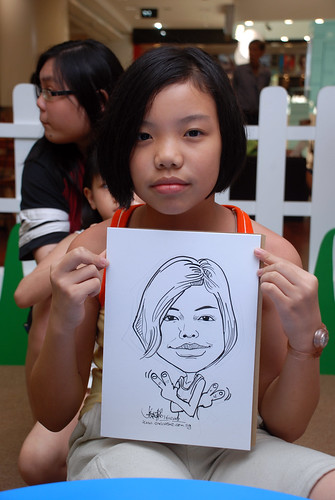 caricature live sketching for West Coast Plaza day 2 - 37