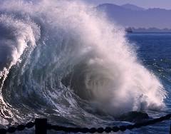 Morning Bath (gcquinn) Tags: ocean california blue water bay san francisco pacific geoff large wave quinn geoffrey northern breaking blueribbonwinner justonelook golddragon mywinners mywinner impressedbeauty flickrdiamond damniwishidtakenthat iwishidtakenit guasdivinas