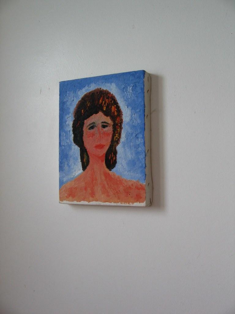 naive portrait, bath- west