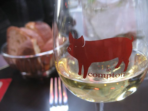 Le Comptoir glass