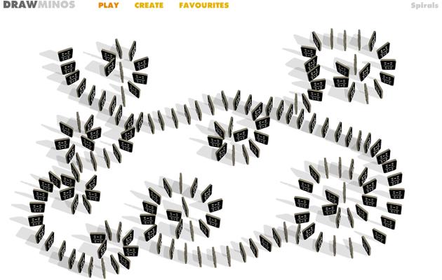 DRAWMINOS - 在线玩有趣的多米诺骨牌游戏