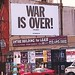 "John Lennon & Yoko Ono's ""WAR IS OVER!"" banner in Greenwich Village, NY, August '06 - 7"
