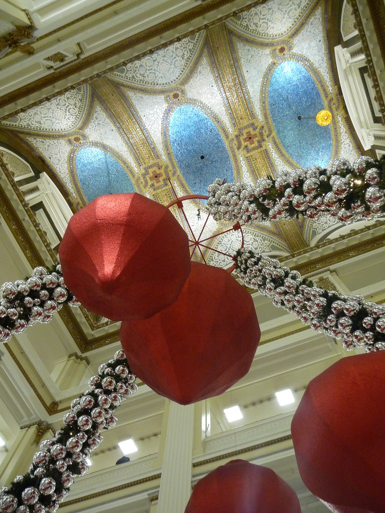 Tiffany Ceiling & Holiday Decor