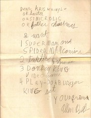 Letter to Santa - 1990