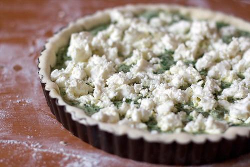 Torta salata, prima di infornare