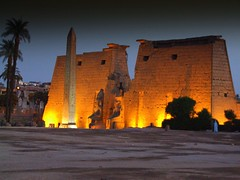 Majestic Luxor, Egypt (Butch Osborne) Tags: travel beautiful night temple ancient fotografie shot digitale egypt historic egyptian traveling luxor lifeisgood breathtaking ramsesii gct puravida antiquity mustsee magnificant pharoahs luxortemple egypt2006 grandcircletravel aplusphoto  bucketlist goldstaraward breathtakinggoldaward mygearandme mygearandmepremium