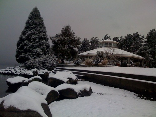snow @ Marina Park