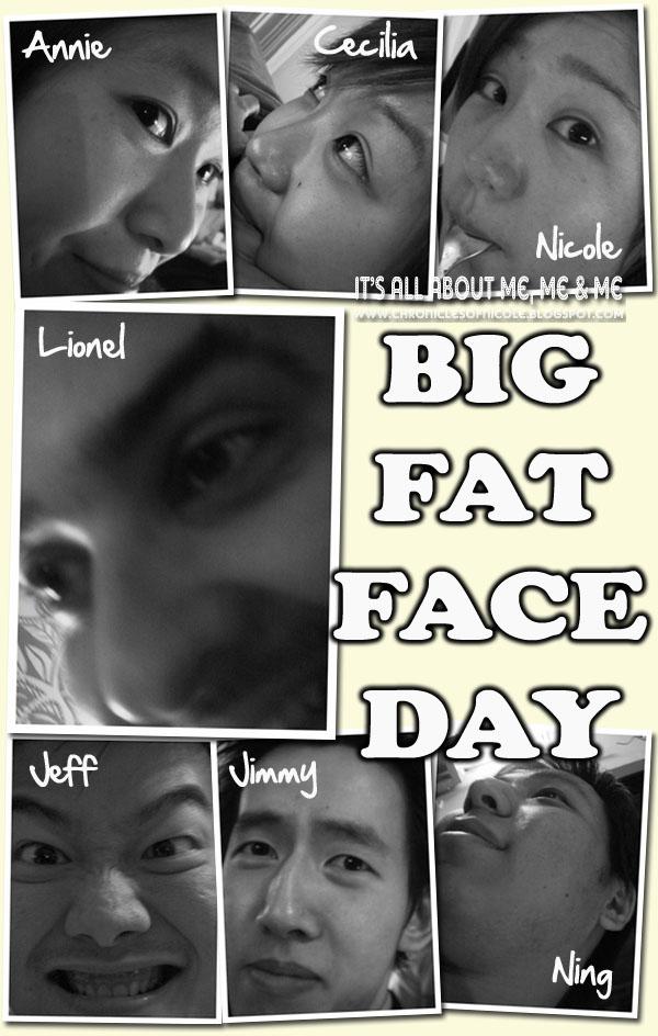 big fat face