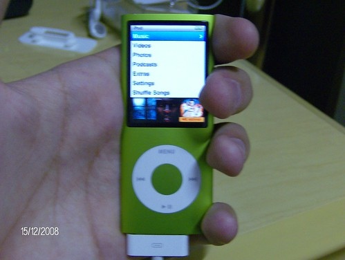 iPod nano 4G verde (8GB) 2011