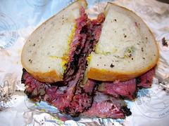 Pastrami on Rye from Hershels