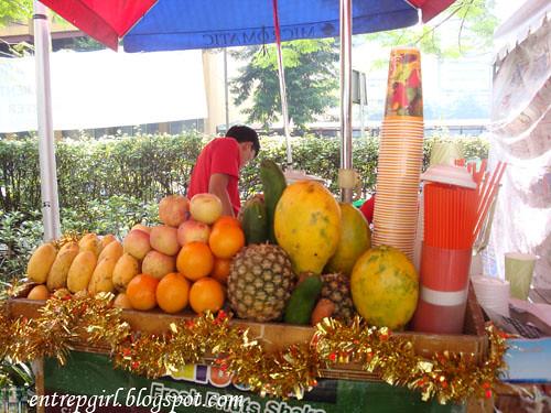 Salcedo fruit shakes