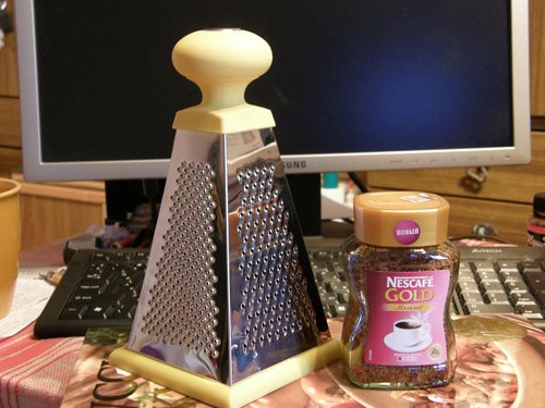 Подарок маме: тёрка и кофе