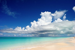 Grace Bay Beach, Provo, TCI (shqiptar_kh) Tags: beach clouds bay carribean grace serenity tci providenciales
