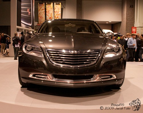 Chrysler 200C Electric Car Concept - Front,car, sport car