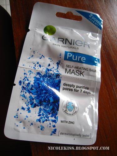pure garnier mask