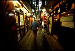 the Chase (TommyOshima) Tags: leica tokyo shinjuku voigtlander f45 fujifilm provia 15mm m7 aspherical rdpiii superwideheliarii swhii