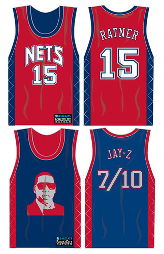 Nets reversible jersey -- Jay-Z by you.