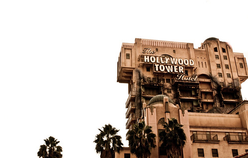 See if youre brave enough to ride the Tower of Terror without holding onto the grab bars!