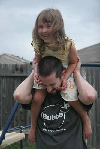 Playing with Daddy!