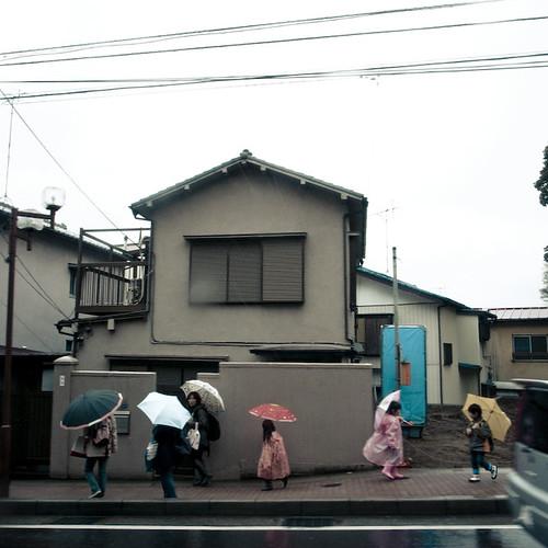 Six Little Umbrellas