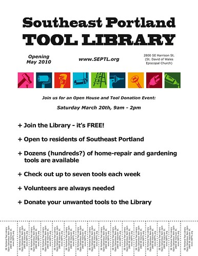 SE Portland Tool Library