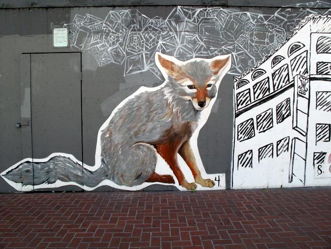 sf animal mural