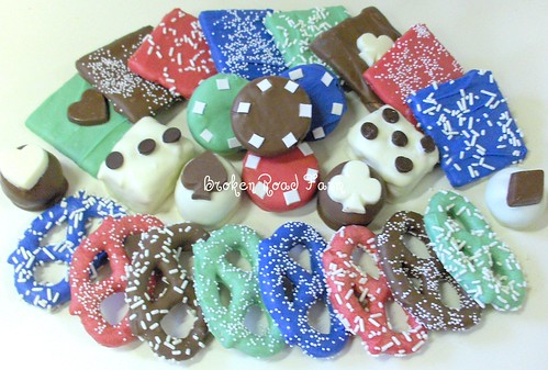 Poker/Casino Party Candies