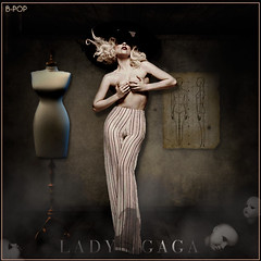 Lady Gaga - Like a Marionette by B-POP (B-POP) Tags: by lady photoshop way this born photoshoot like header diseo firma outtake marionette gaga desing blend 2011 bpop brianpop2008