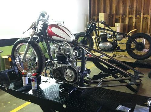 kyle_malinky_1967_bonneville_salt_flats_race_bike_  hard_tail_install_1