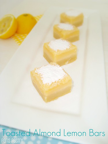 Toasted Almond Lemon Bars