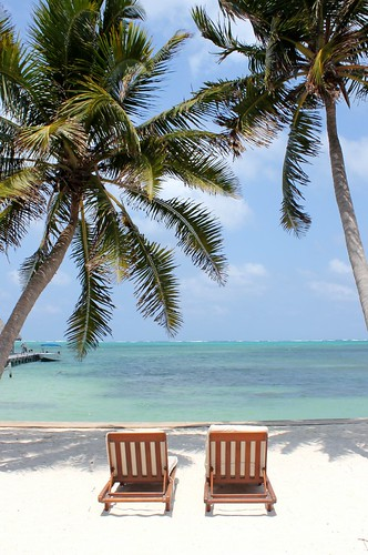 Beach at Victoria House, Ambergris Caye, Belize