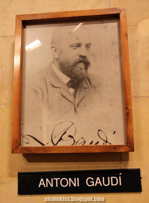 anthoni gaudi portrait