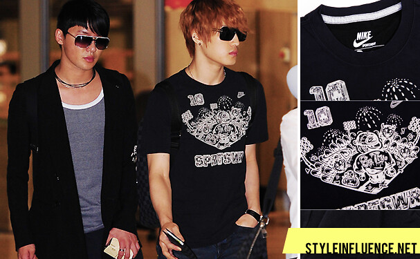 K-pop Airport Fashion: Of Jaejoong Hair and Just Do It Shirts  | Style/Influence