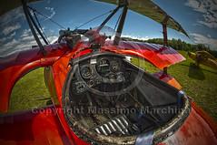 001930 D 300 HDR (Massimo Marchina) Tags: italy italia hdr treviso veneto aerei aereoporto fokkerdr1 affisheyenikkor105mm128geddx 15°baraccaday nervesadellabattagliatv