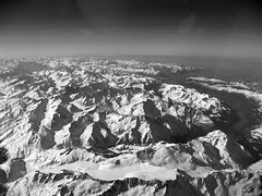 Alps in Contrast (Lost in Transition) Tags: alps aerial lufthansa skyhigh flyinhigh lostintransition ixy800is matthiasfranke marrymeflyforfree
