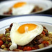 Corned Beef Hash with a fried egg