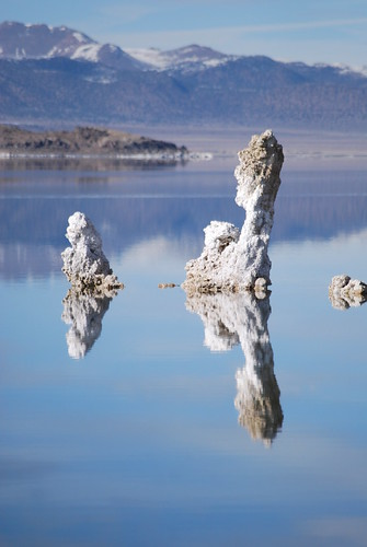 Tufa reflections