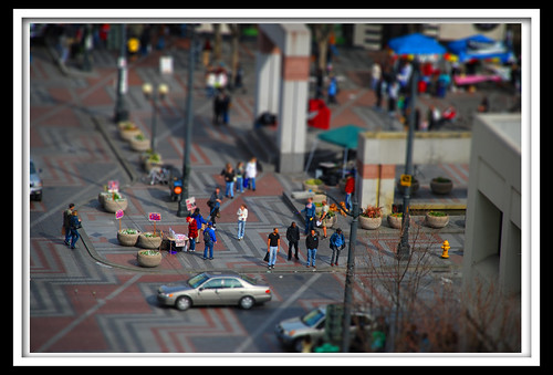 Mini People and Cars