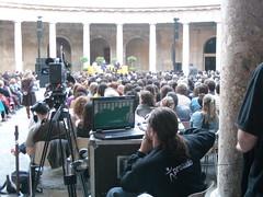 el técnico solitario (vilamelka) Tags: festival alhambra hay solitario
