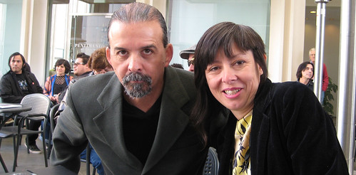 Harry Gamboa and Sandra De La Loza