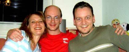 Verena, Stefan, René