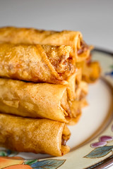 Lumpia Love (disneymike) Tags: california food asian nikon meat pork filipino appetizer nikkor fried speedlight d3 springrolls lumpia murrieta eggrolls sb800 60mmf28dmicro su800 bakebitebakery