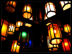 Night Life (Midhun Manmadhan) Tags: light lamp colours nightshot kerala trivandrum canonpowershots3is colorphotoaward dukesforestlodge